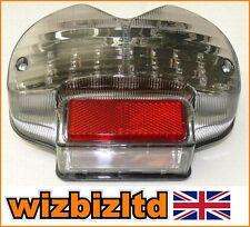 BIKEIT fumé clair Feu arrière LED SUZUKI GSF 1200 BANDIT 2002 leds137