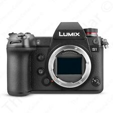 Panasonic LUMIX S1 DC-S1 4K Full Frame Mirrorless Camera with 24.2MP WiFi Black