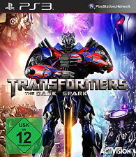 Transformers - The Dark Spark für Playstation 3 PS3 | NEUWARE | DEUTSCHE VERSION