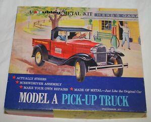 HUBLEY 855K-300 Diecast MODEL A Pick-Up Truck Metal Kit Box