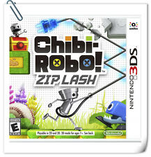 3DS NINTENDO Games Chibi-Robo: Zip Lash Action