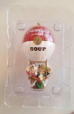 Campbells Soup 1997 CAMPBELL KIDS 100th Year Anniversary Holiday Hot Air Balloon