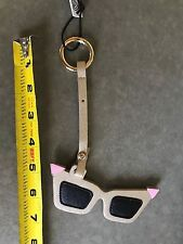 NEW NWT LOVE BRAVERY Lady Gaga Elton John KEY CHAIN RING Sunglasses