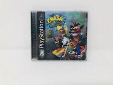 Crash Bandicoot 3 Warped 3D Cover Black Label Playstation 1 Game Complete