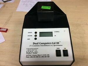 DUAL COMPUTER-CAL III BPI UV Visible Spectrometer USM338 01091