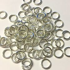 Aluminium Chain Maille 5mm Jump Rings 1.2mm Green Pack of 100 P55//5