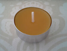 Handmade 100% Beeswax Candles - box of 8 tealights