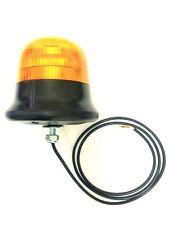 LED Warnleuchte Rund Ø145 3 Blitzmuster 9 LED 12V 24V 48V E9 R65 M12 Schraube