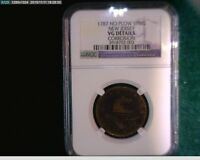 1787 New Jersey Cooper No Plow Spring NGC certified  penny 1c( # 67s133 )