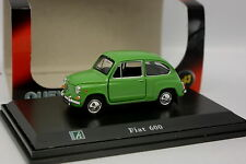 Cararama Oliex 1/43 - Fiat 600 Verte