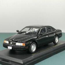 Mini Car Nissan Infiniti Q45 1989 Black 1/43 Scale Box Display Diecast