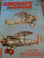 MODEL AIRCRAFT MODELWORLD JANUARY 1985 FOREIGN BULLDOGS  DH DRAGONFLY