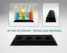 API Test Kit Testing and Draining Station - API Tube Holder Rack