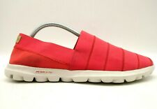 Skechers Go Walk Resalyte Red Stretch Comfort Walking Loafers Shoes Women's 11