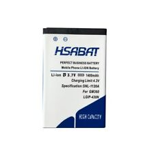 HSABAT 1400mAh LGIP-430N Battery for LG Cookie T310 LX290 LX370 LN240 T310i T320