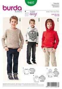 Burda Schnittmuster - Sweater & Pullover & Hoody - Nr. 9407