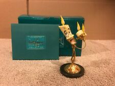 """WDCC Beauty And The Beast - Lumiere """"Vive L'Amour!"""" + Box & COA"""