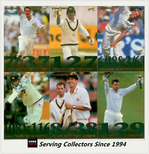 1997/98  Select Cricket Trading Cards Ashes Highlights Subset Full Set (10)