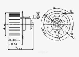 HVAC Blower Motor fits 1986-2003 Dodge B150,B250,B350 Ram 2500 Van,Ram 3500 Van