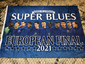 Chelsea Champions League Winners Cup Final Flag 2021