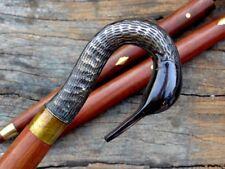 Solid Brass Swan Vintage Designer GIFT ITEM Handle Head Walking Stick Cane Shaft