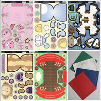 Kanban Wobblers kit - die cut cute animal concept cards, paper craft, cardmaking