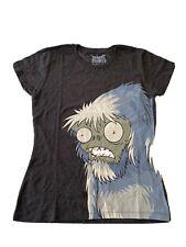 Genuine Official Plants vs Zombies- Yeti- Ladies T Shirt Size XXL Brand New