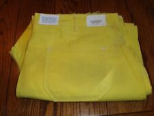 Men's CTS FR Flame Retardant Yellow Work Utility Pants - Size W44 X UNF