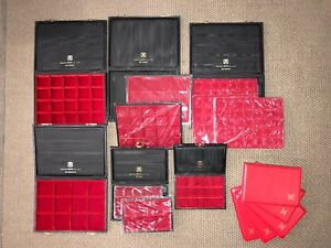 Abafil Briefcase Lot Pound Gold Sestertius Denier Trays Slab Entra Choose