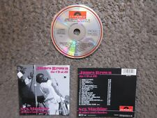 "JAMES BROWN ""THE CD OF JB-SEX MACHINE & OTHER SOUL CLASSICS"" 1985 EX.COND.OOP CD"