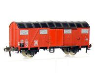 Fleischmann 5330 H0  2-achsiger gedeckter Güterwagen Gmhs 53 der DB, braun