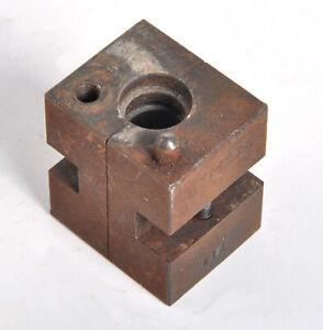 Vtg Lyman Bullet Mold 50 Caliber 812 Single Bullet (O)