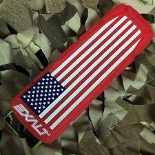 New Exalt Bayonet Barrel Cover Sock Plug Condom - Usa Flag (Red/White/Blue)