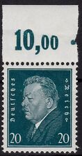 === DR Reichspräsidenten Mi. 415 ** Oberrand Platte, Kat. 160€ ===