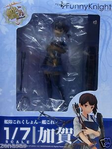 New Aoshima Funny Knights Kantai Collection Kaga 1/7 PVC From Japan