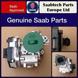 GENUINE SAAB 9-3 2005-10 1.9 DIESEL 8V THROTTLE BODY - BRAND NEW - 93186494