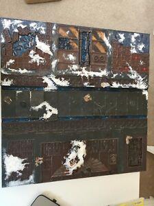 Warhammer 40k Citadel Game Board tile cityscape