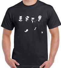 Mens U2 T-Shirt -- The Edge - Bono - Rock Music Guitar Acoustic Electric Amp
