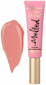 TOO FACED Melted Liquified Long Wear Liquid Lipstick -PEONY- New in box