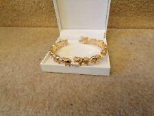 Cristalina Elephant Bracelet Made With Swarovski Elements In Box Veautiful