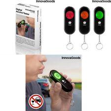 Alcoholímetro Digital de precisión, señal acústica, iluminación en 3 colores