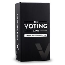 The Voting Game - The Adult Party Game About Your Friends [UK Edition]