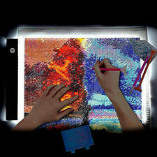 DIY 5D Diamond Painting LED Light Board Pad A4 Holder Sketching Drawing Tool NEW