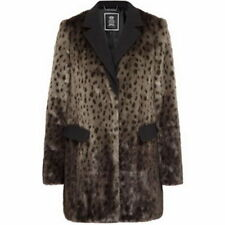 NWT JUICY COUTURE BROWN BLACK CHEETAH JACKET COAT L >>>SOLD OUT<<< $450 RETAIL
