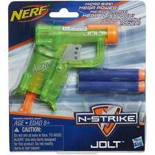 Brand New NERF N-Strike JOLT Dart BLASTER Mini GREEN
