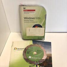 Microsoft Windows Vista Home Basic 32 Bit