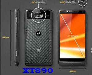 "Original Unlocked Motorola XT890 - 3G Wi-Fi Capable 8MP NFC 4.3"" Androd Phone"