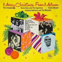 MERRY CHRISTMAS FROM MOTOWN ~ Rare 1968 UK FIRST PRESSING Tamla Motown vinyl LP