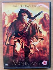 the Last of the Mohicans DVD 1992 Native American Action Epic Classic