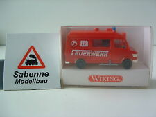 Wiking h0 1:87 605 01 22 Mercedes Benz RTW pompiers neuf dans sa boîte b811